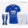 Completo Home Leicester 2021/22 maglia+pantaloncini+calzettoni