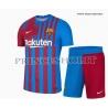 Kit Home Barcellona maglia+pantaloncini 2021/22