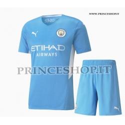 Kit Home Manchester City maglia+pantaloncini 2021/22