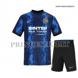 Kit Home Inter 2021/22  maglia+pantaloncini