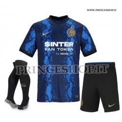 Completo Home Inter 2021/22 maglia+pantaloncini+calzettoni