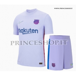 Kit Away Barcellona maglia+pantaloncini 2021/22