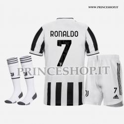 Completo Home Juventus di Cristiano Ronaldo 2021/22