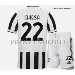 Kit Home Juventus di Federico Chiesa 2021/22
