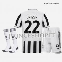 Completo Home Juventus di Federico Chiesa 2021/22
