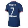 Maglia MBAPPÉ - Home PSG 2021/22