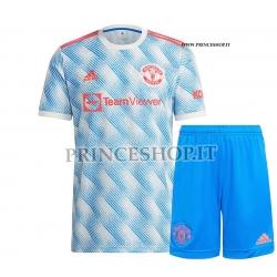 Kit Away Manchester United maglia+pantaloncini 2021/22