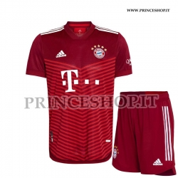 Kit Home Bayern Monaco 2021/22 maglia+pantaloncini