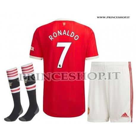 Completo Home Manchester United 2022 di Cristiano RONALDO