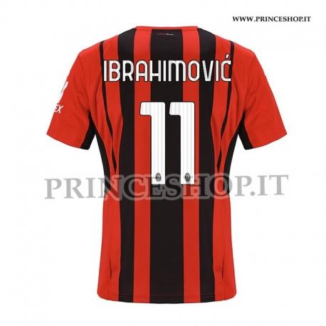 Maglia IBRAHIMOVIC - Home Milan 2021/22
