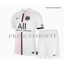 Kit Away PSG maglia+pantaloncini 2021/22