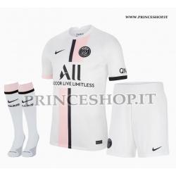 Completo Away PSG maglia+pantaloncini+calzettoni 2021/22
