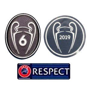 6 UCL + RESPECT + 2019 UCL CHAMPIONS